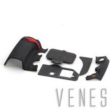Тела передняя задняя нижняя вывод резиновое покрытие замена части костюм для nikon d700 цифровая камера ремонт