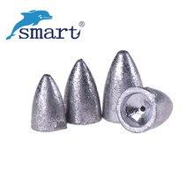 18pcs Fishing Lead Sinker 2.5g,3.5g,5.0g, 6.5g,10g 5Size Weight Drop Split Shot Carpe Fishing Kits Accessoire Peche en Mer