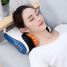 Infrared Heating Neck Massage Pillow Multifunctional Shiatsu Pillow Device Body Massage Cushion Neck Healthy Massageador Relax стоимость