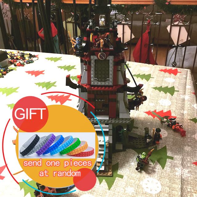 06037 850Pcs Ninj The Lighthouse Siege Model Building Kits Mini Blocks Brick Compatible with 70594 Toys lepin lepin 06037 compatible lepin ninjagoes minifigures the lighthouse siege 70594 building bricks ninja figure toys for children