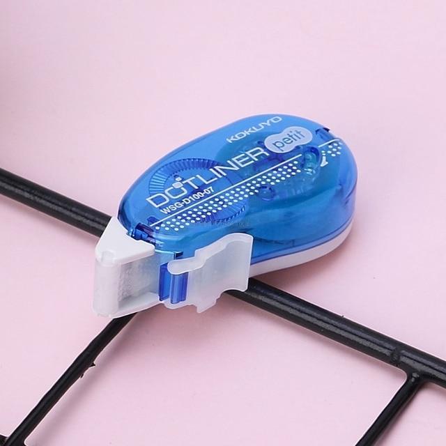 Nouveau Mini rouleau adhésif Double face ruban adhésif colle point Liner Petit jetable pour bricolage