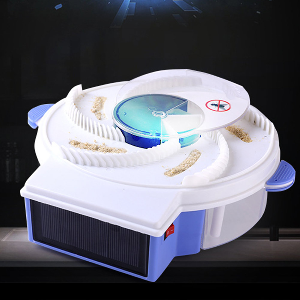 Solar Automatic Fly Trap Anti Fly Killer Traps Flycatcher Device Insect Pest Reject Control Catcher Mosquito Fly Trap Catching