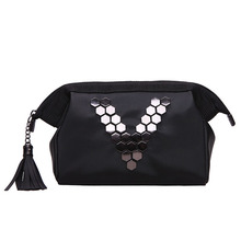 Creative Waterproof Korean Cosmetic Bag Small Portable Large-capacity with Clutch Storage