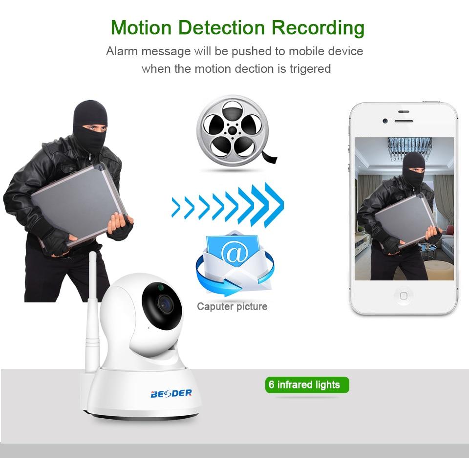 HTB1rVcAqpmWBuNjSspdq6zugXXa4 BESDER 1080P 720P Home Security IP Camera Two Way Audio Wireless Mini Camera Night Vision CCTV WiFi Camera Baby Monitor iCsee
