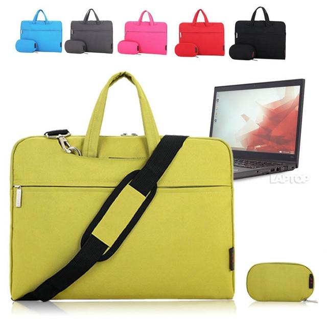 14 '' pulgadas de la serie del bolso de hombro bolsa de la cremallera caja protectora de la manga mensajero maletín para Lenovo ThinkPad T450s Notebook Laptop