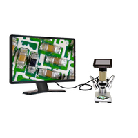 3 polegada ADSM201 tela 1080 p HDMI digital microscpe Lupa microscópio de longa distância do objeto para industrial SMT PCB reparação|hdmi microscope|1080p microscope|microscope digital -