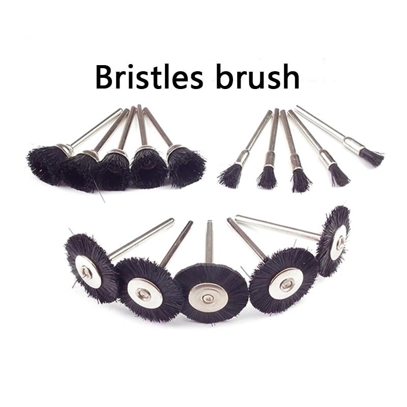 30 de piese Dremel Rotary Steel Wire Brush Seturi cu accesorii Dremel - Instrumente abrazive - Fotografie 4
