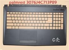 Palmrest For MSI GP62 6QG GP62M GL62 6QF 3076J4C713P89 E2P-6J4C713-P89 3076J5C614P89 307-6J1C261-Y31 3076J4D231Y311 Upper Case msi gp62 7re 659ru leopard pro black