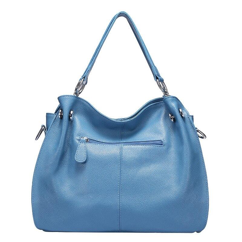 OCEHNUUหนังแท้หรูหรากระเป๋าถือผู้หญิงกระเป๋าออกแบบกระเป๋าสะพายCrossbodyพู่หญิงจริงหนังผู้หญิงกระเป๋า-ใน กระเป๋าสะพายไหล่ จาก สัมภาระและกระเป๋า บน   2