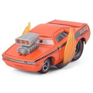 Image 4 - لعبة سيارة ديكاست معدنية 3 2 من Disney Pixar Car لعبة سيارة بلاك ستورم جاكسون برق ماكوين نموذج شاحنة ألعاب أطفال هدايا كريسماس