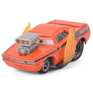 Image 4 - Disney Pixar Cars 3 2 Metal Diecast Car Toy Black Storm Jackson Lightning McQueen Truck Model Children Car Toys Christmas Gift