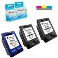 3PK,Print Ink Cartridge for HP 21 22 XL hp21 hp22 DeskJet 3910 3915 3918 3920 3930 3938 3940 D1311 D1320 D1330 D1341 D1360 F4188