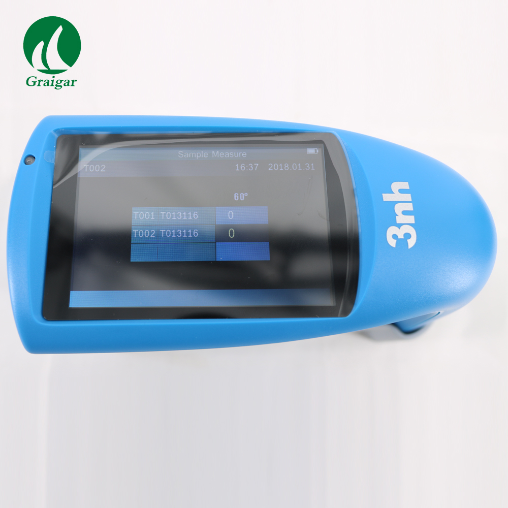 Economic Gloss Meter HG60S Stable Performance Easy to Read Data Concise Appearance Feel Good