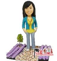 2019 Real Minions Brinquedos wedding Toys Custom Figurine Wedding Birthday Gift Valentine's Day for Her Boyfriend Cake Topper