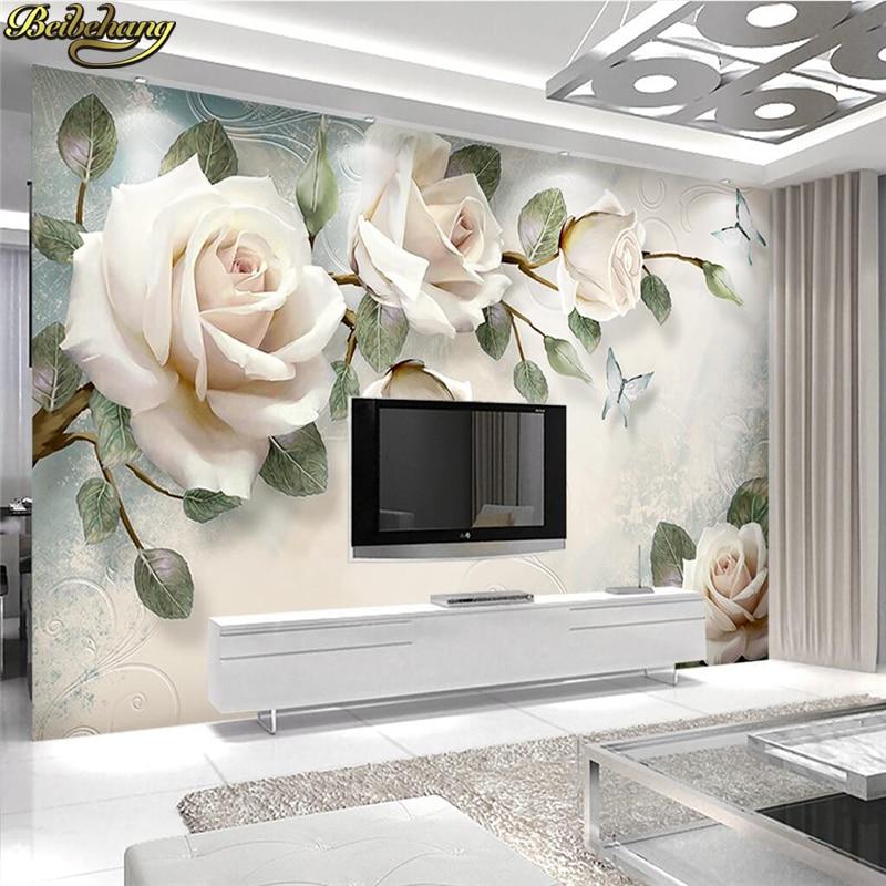 Beibehang custom photo wallpaper mural wall sticker modern for Mural 3d simple