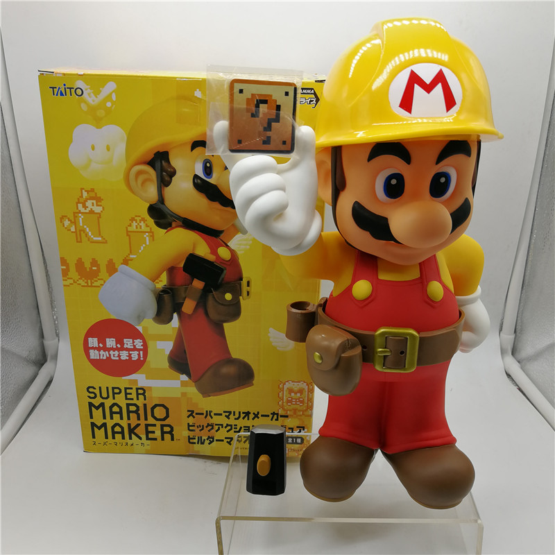 Game Super Mario Bros Plumbers modern design PVC Action Figure Collectible Model Toys box 30CM DE434