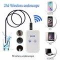 Wifi Controle de Câmera Endoscópio Grande Angular Oculta Dedicada Gravador de Vídeo Digital USB Endoscópio Microscópio LED 2 Metro