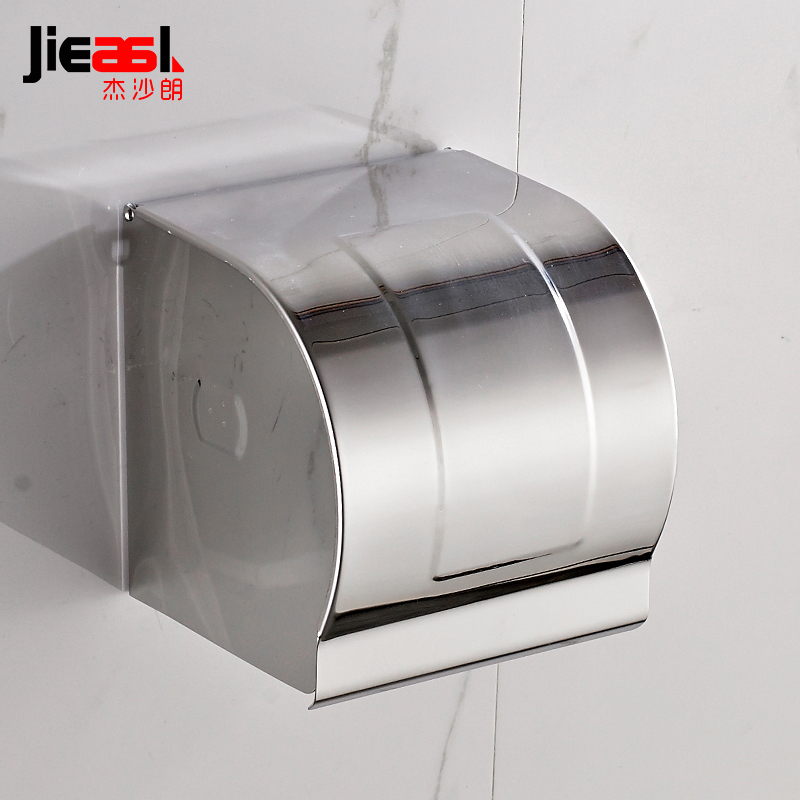 304 Stainless Steel Paper Holder Roll Tissue Holder Hotel Works Toilet Roll Paper Tissue Holder Box Waterproof Design 107 ac220v led flood light 30w 50w 70w 100w 150w reflector led floodlight waterproof ip65 spotlight warm cold white outdoor lighting