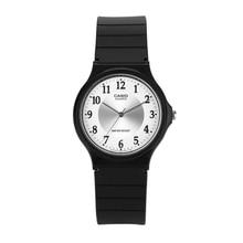 Casio watch small black student quartz men and women MQ-24-7B3