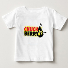 Chuck Berry T Shirt children Short Sleeve T-shirt  O-Neck cotton Tshirt  summer top t shirt 2018 Rock T-shirt Boys Girl tee  NN shintimes long sleeve t shirt women 2019 cotton t shirt female korean style woman clothes plus size tshirt vogue tee shirt femme