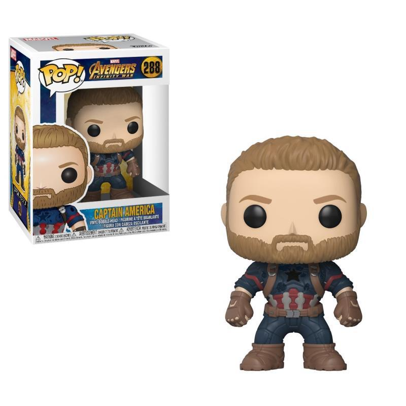 Funko POP The Marvel Avengers3: Infinity War Captain America PVC Action Figure Collected toys for Children gift цена