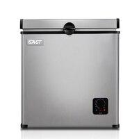 Бытовой мини холодильник 55L Малый размер горизонтальный тип морозильник однодверный мини Холодильный шкаф BD 55