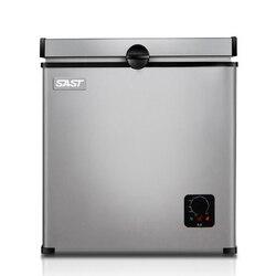Hogar Mini refrigerador 55L pequeño tamaño Horizontal tipo congelador de una sola puerta Mini gabinete refrigerado BD-55