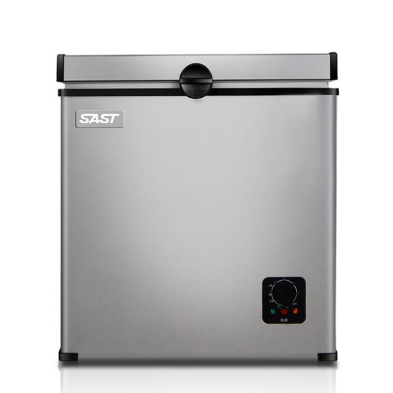 Household Refrigerator 55L Small Size Horizontal Type Freezer Single-door Refrigerated Cabinet BD-55