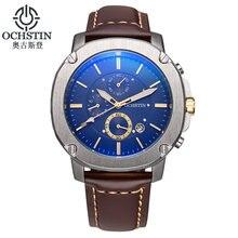 Reloj de los hombres de primeras marcas de lujo ochstin reloj cronógrafo de pulsera de moda deportes hombres relojes de cuarzo relojes militares relogio masculino