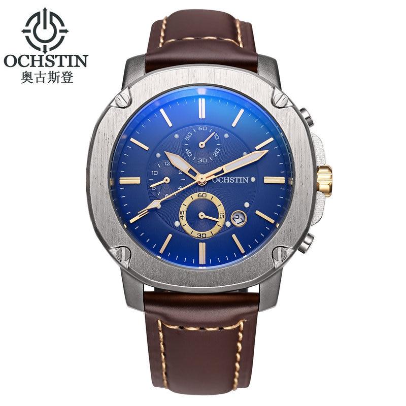 Top Brand Luxury OCHSTIN Watch Fashion Chronograph Sport Men Watches Quartz military Reloj Hombre Wristwatches relogio