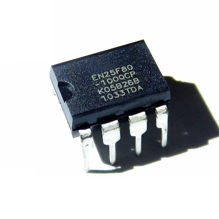 1pcs/lot  EN25F80-100QCP   EN25F80  DIP-8 Memory Chip