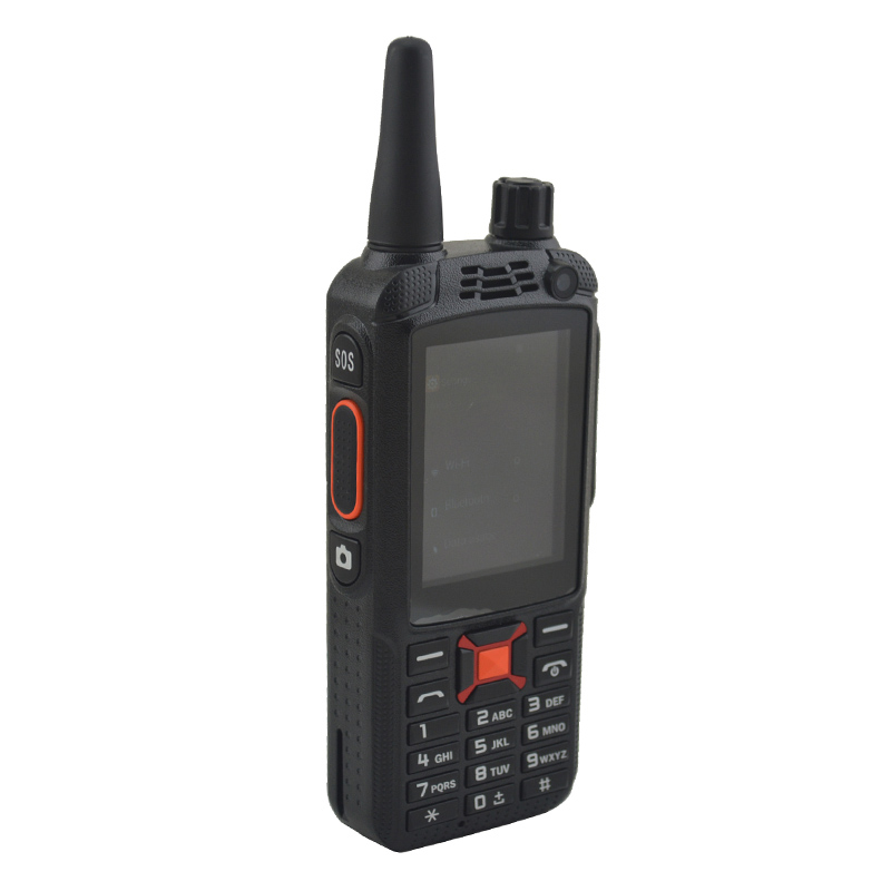 Dual SIM 3G WCDMA Zello PTT NETWORK Walkie Talkie Radio F22+ Mobile Phone W/ 2.4Inch Touch Screen 512MB RAM 4GB ROM Android 4.4