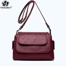 Casual Thread Crossbody Bags for Women Famous Brand Leather Shoulder Bag Female Large Capacity Designer Women Messenger Bags Sac