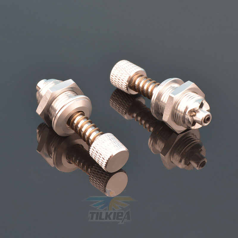 Parts /& Accessories FATJAYF 3-Way Screw in Nipple M4 Brass RC Boats Water Inlet Outlet Nozzle Water Cooling for Methanol Gasoline Ship