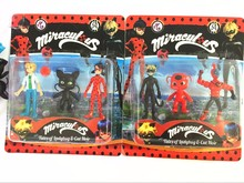 New Arrival Miraculous Ladybug Action Figure Toys Adrien Noir Agreste Cat Plastic Doll Christmas Gift with package