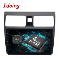 Idoing 2Din 9 2GB 32GB For Suzuki SX4 Android 6 0 Steering Wheel Octa Core Car