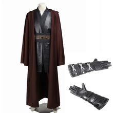 Star Wars Anakin Skywalker Kostuum Voor Volwassen Mannen Halloween Carnaval Kostuum Kleding Custom Made(China)