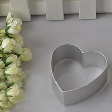 Christmas b akeware Aluminium Loving Heart Shaped Alloy Pastry Biscuit c ookie Cutter b aking Mould цена