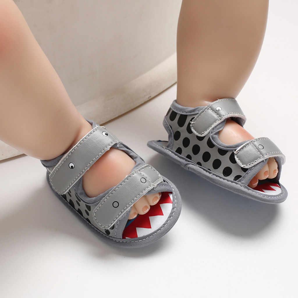 ARLONEET sandalias infantil bebé recién nacido niña cocodrilo estampado Prewalker sandalias Zapatos individuales niños zapatos de verano