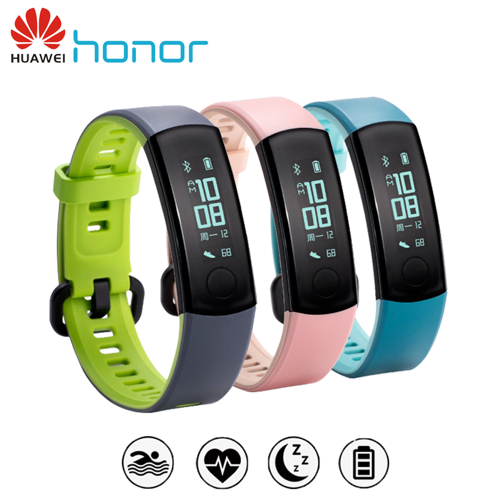 Hot Item Huawei Honor Band 3 Smart Wristband Real Time Heart Rate Xiaomi Mi 2 Original Bracelet Monitoring 5atm Waterproof For Swimming