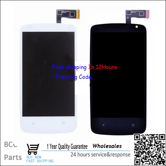 BEST quality, Test OK,Original LCD display screen digitizer For HTC desire 500 with free shpping & tracking number