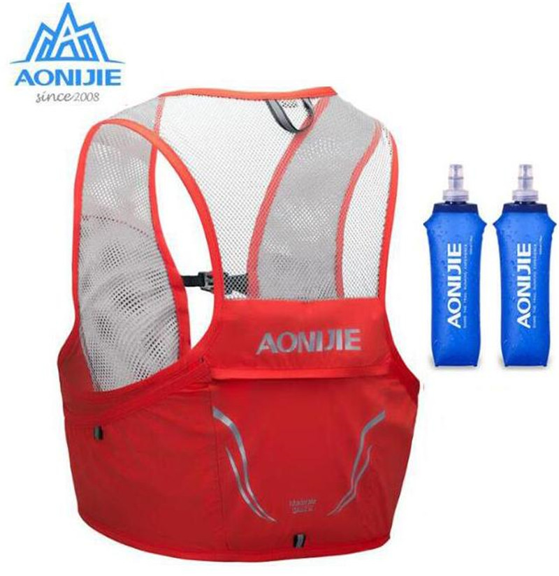 AONIJIE 2.5L Hydration Pack Backpack Rucksack Bag Lightweight Breathable Vest Harness Water Bladder Camping Running Marathon
