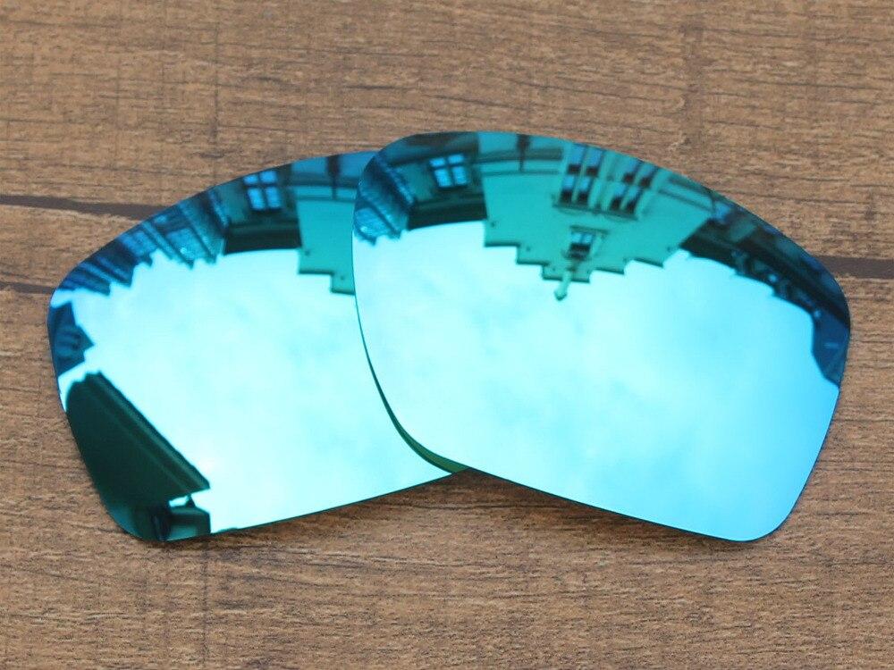 Glace Bleu Miroir Polarisé verres de Remplacement Pour Big Taco lunettes de  Soleil Cadre 100% UVA et UVB Protection 6875e3383da0
