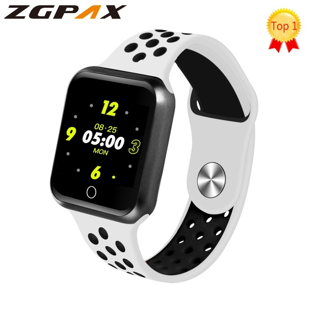 2019 Top Smart Bracelet Color Screen Heart Rate Blood Pressure Monitoring Track Movement Standby 15 days Health Smart Watch