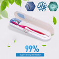 1Pc Dental Care UV Toothbrush Sanitizer Removable Toothbrush Holder Travel Portable Sterilizer Box RP1-5