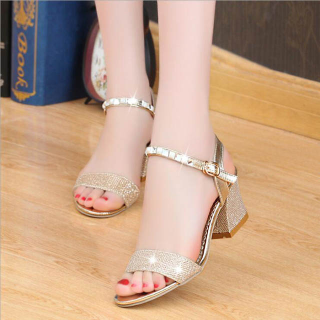 e5ab02a9b3 Online Shop Women sandals 2018 summer high quality fashion crystal sandals  women casual sandals comfortable sandalia da moda size 35~41