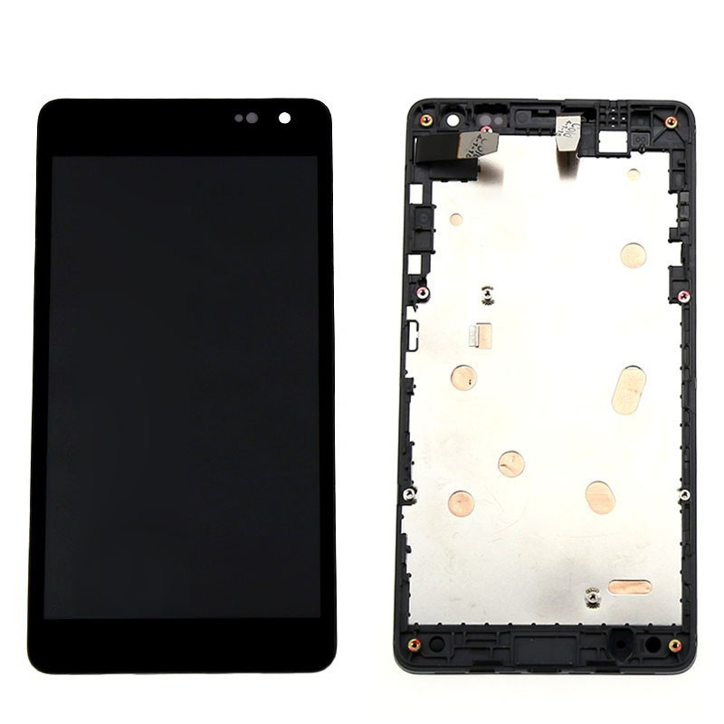 New Lcd For Microsoft Nokia lumia 535 LCD Display Touch Digitizer Screen Assembly with Frame free