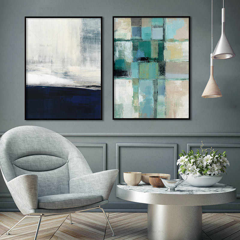 Wall Art Poster Colorful Printings Abstract Canvas Painting Decorative pictures for living room Unframed prints modern posters