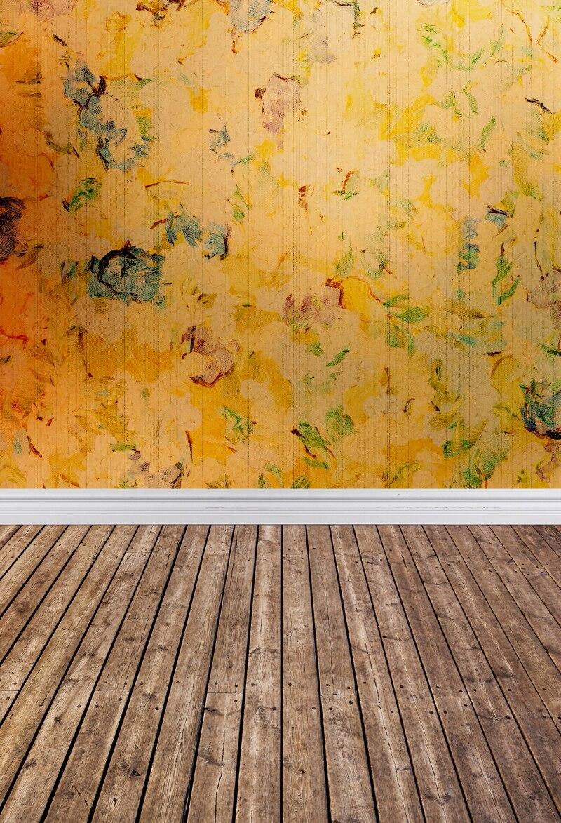 ᐃHot Sale yellow Art fabric Photo Studio Backdrops PC Painted baby ...