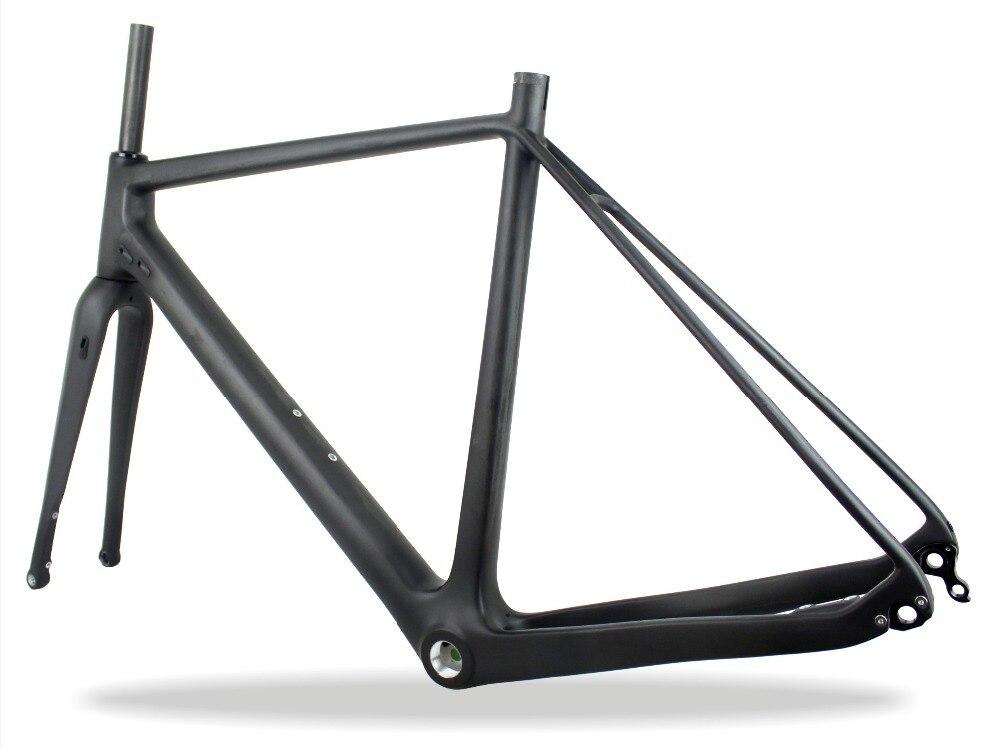 Fantástico Titanio Disco Marco Cyclocross Inspiración - Ideas ...